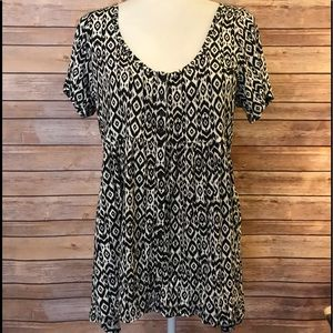 Torrid short sleeve blouse